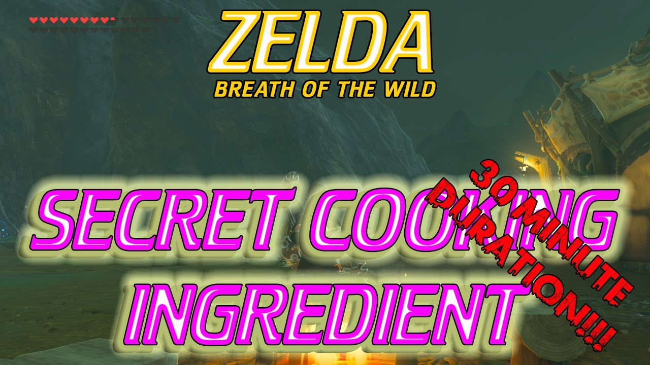 Zelda Breath of the Wild – Cooking BEST RECIPES and
