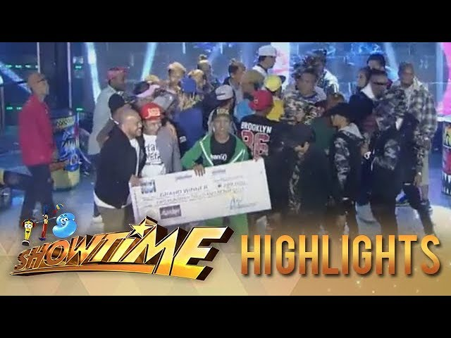 It's Showtime HypeBest: Mandarhyme is the first-ever It's Showtime HypeBest grand winner