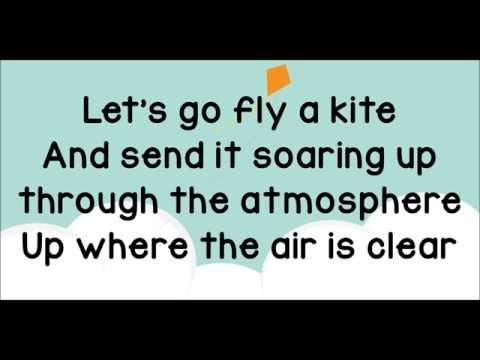 Let's Go Fly a Kite Lyrics from Saving Mr  Banks
