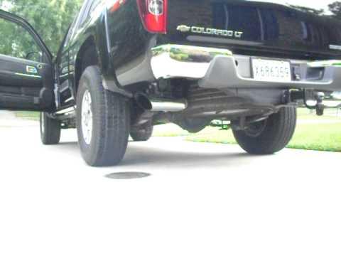 2008 Chevrolet Silverado 1500 >> 2008 chevy colorado exhaust - YouTube