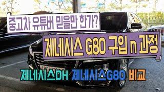 [중고차] 부산중고차, 중고차 유튜버에게 제네시스 G8…