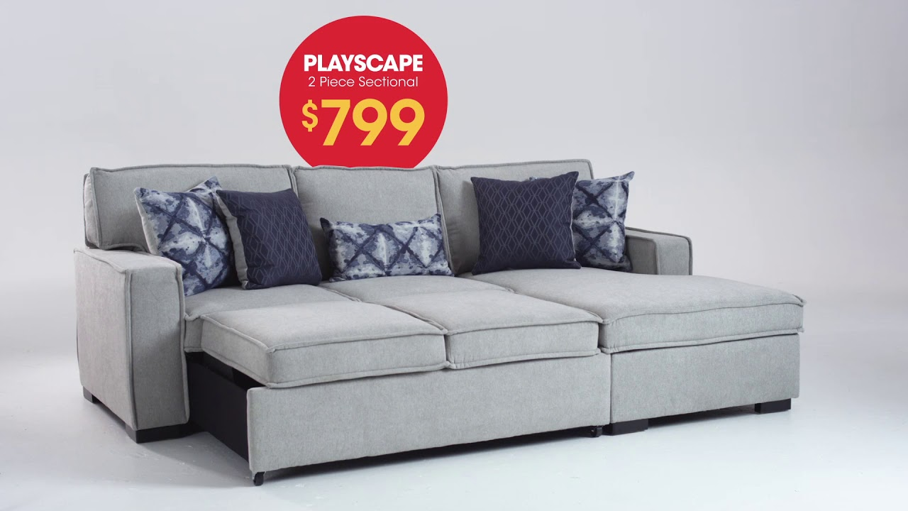 Nothings Greater Than A Playscape 2 Piece Sectional