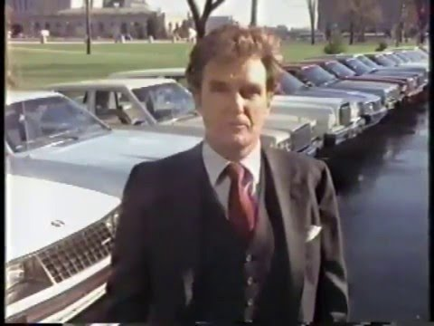 Robert Stack 1981 Ford Motor Company Commercial
