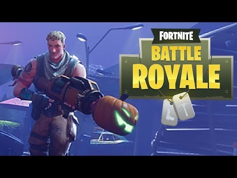 Legendary SCAR And Pumpkin Launcher! - Fortnite Battle Royale Xbox One Gameplay - Fortnitemares