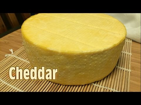 Pizza: How to Make Cheddar Cheese