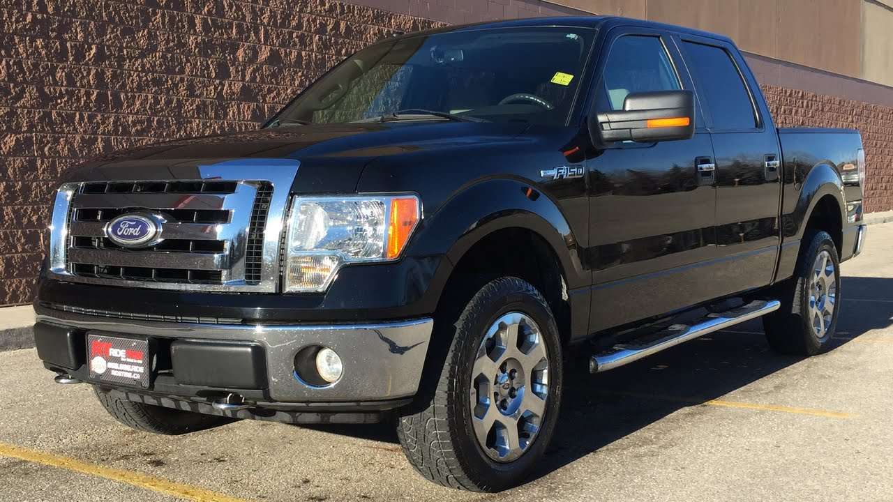 2009 Ford F 150 XLT 4WD Chrome Alloy Wheels Running