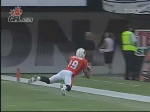 Paris Jackson Catch vs. Saskatchewan