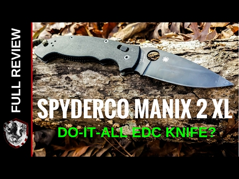 Spyderco Manix 2 XL - Full Review - YouTube