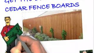 Get the best price on cedar fence boards