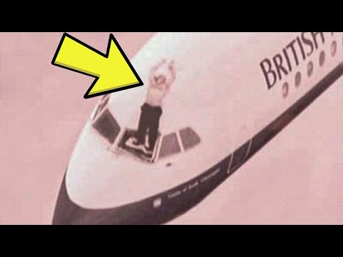 Cockpit Window Shatters Mid-Flight, Then The Pilot Is Sucked Out Of The Plane.