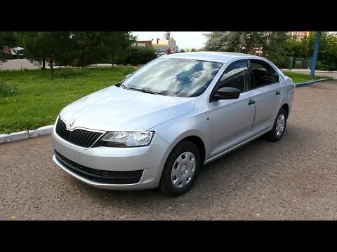 2014 Skoda Rapid. Start Up, Engine, and In Depth Tour.