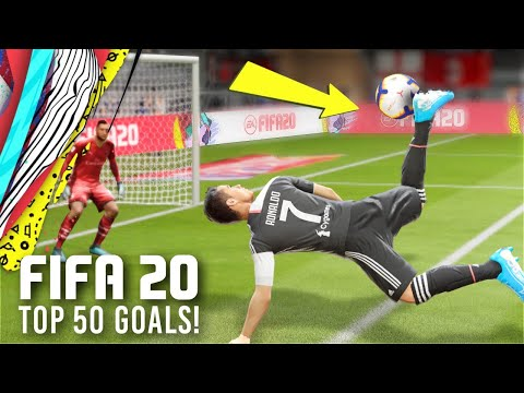 FIFA 20 -TOP 50 BEST GOALS OF THE YEAR!
