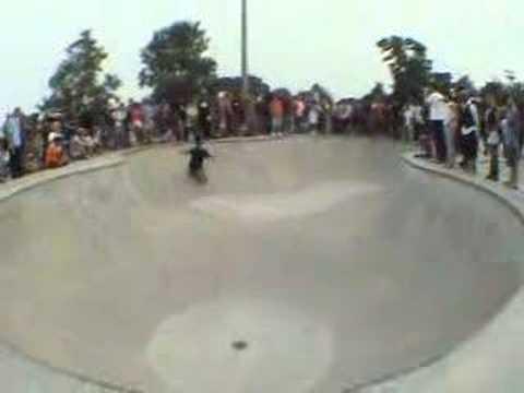Omar Hassan at Wilson Skatepark in Chicago
