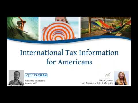 International Tax Information for Americans 2018