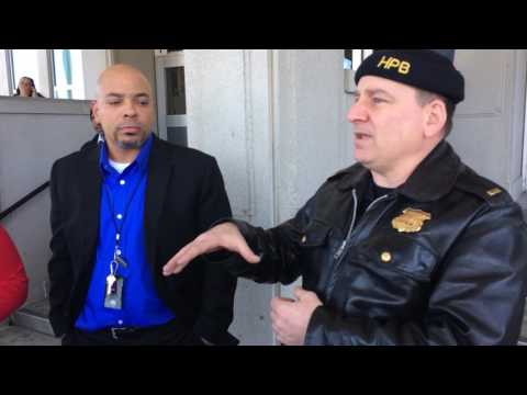 Harrisburg police and acting high school principal talk about weapon incident