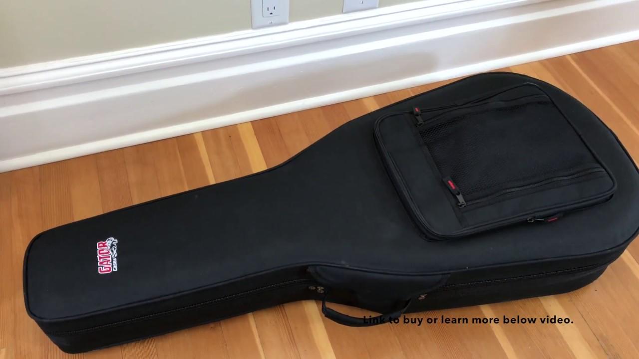 63b110c6cd Gator Lightweight EPS Foam Classical Guitar Case (GL-Classic) - YouTube