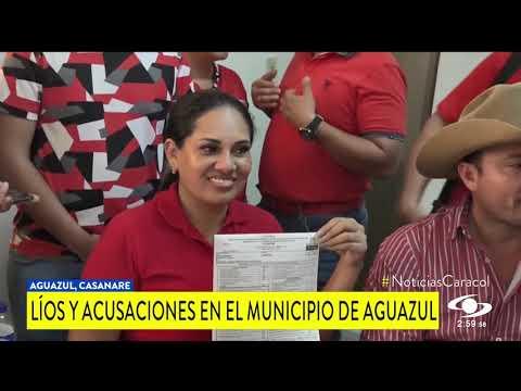 INVESTIGAN A ALCALDESA DE AGUAZUL Y A SU ASESOR JURÍDICO