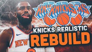 DRAFTING ZION! NEW YORK KNICKS REALISTIC REBUILD! NBA 2K19