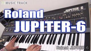 ROLAND JUPITER-6 Demo&Review [English Captions]