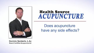 Side effects of acupuncture | Linwood New Jersey Accupuncture