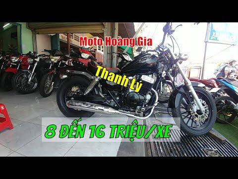 Moto Hoàng Gia THANH LÝ Xã Lô Moto Giá Rẻ Từ 8 Đến 16 Triệu | Thắng Biker