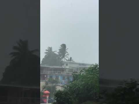 Tropical cyclone keni affects Suva area