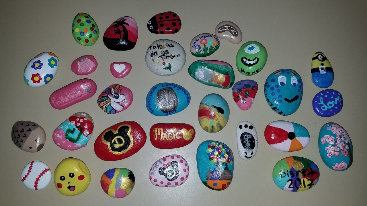 DIY Painted Rocks Hidden Rock Game
