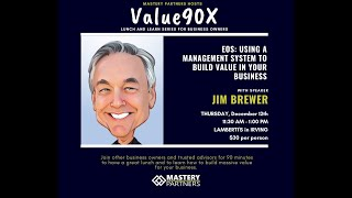 V90X with Jim Brewer
