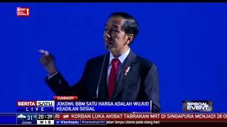 Presiden Jokowi Resmi Buka Rakernas IV Partai Nasdem