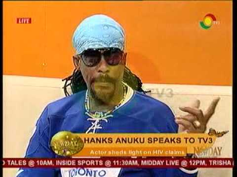 NewDay - Hanks Anuku Speaks to TV3 -24/2/2014