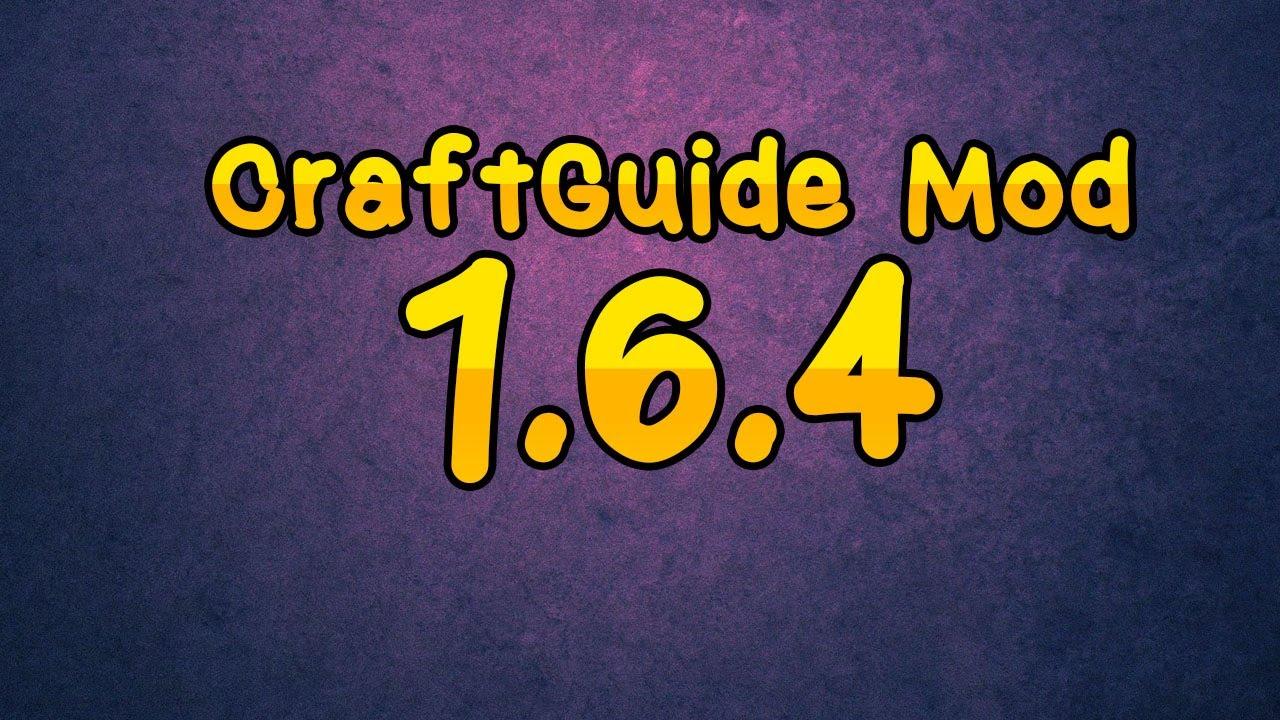 Скачать мод для minecraft 1.6 4 craftguide