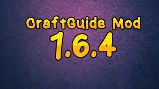 [1.6.4] CraftGuide Mod - Showcase / Download