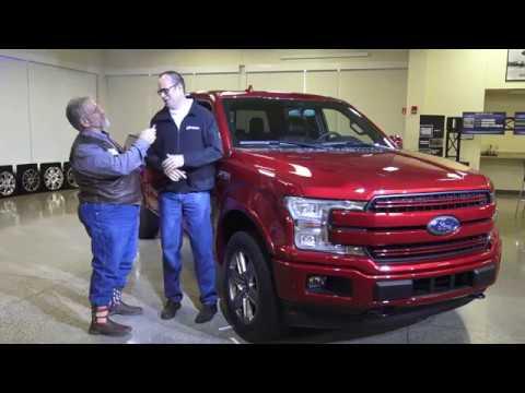 2018 Ford F150 revealed, new diesel, new V-6, 10-speeds galore, start-stop