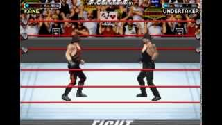 WWE Road To WrestleMania x8 gba gameplay