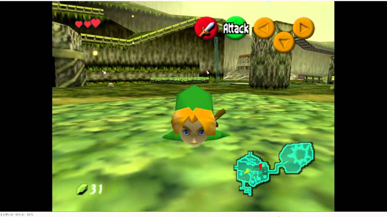 Ocarina Of Time Glitchy 60 FPS hack