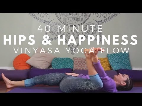 Vinyasa Flow to Foot-Behind-the-Head Pose - 35 Minutes - Intermediate