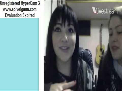 Jennel Garcia Twitcam - 3/30/13