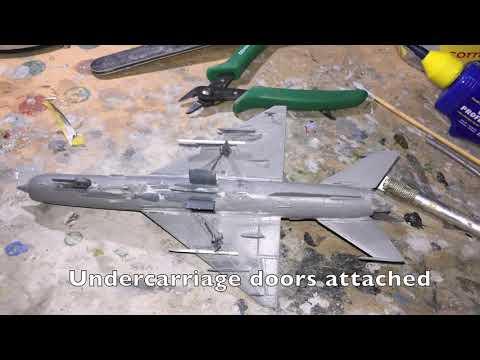 1:72 KP Models MiG-21MF Libya