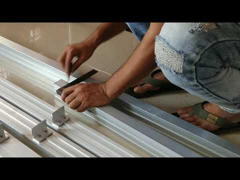 How To Make Aluminium Partition || AAFD