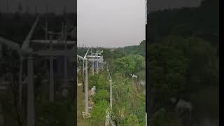 RC-3K wind turbine off grid system in Beijing