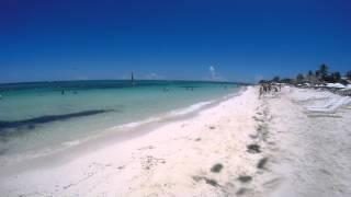 Walking through Port Lucaya beach - Grand Bahama - GoPro Hero 4 4k\1080p
