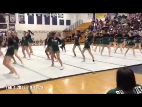 Frederick County Cheerleading Competion