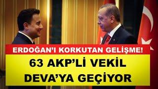 """FLAŞ... """"AKP'Lİ 63 VEKİL BABACAN'IN PARTİSİNE GEÇİYOR"""" İDDİASI"""