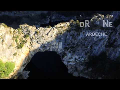 Pont d'arc par Drone Ardèche