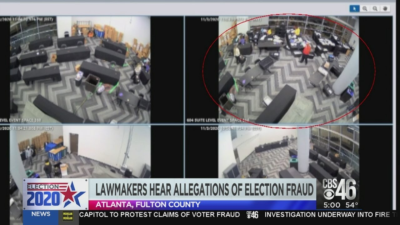 Video prompts question of voter fraud in Georgia - YouTube