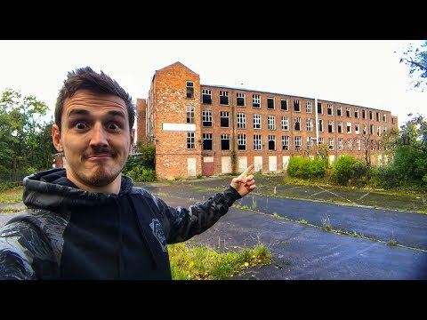 EXPLORING an ABANDONED FACTORY!!