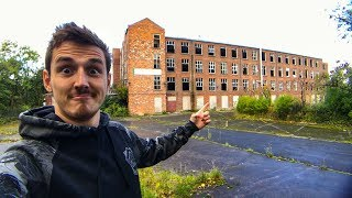 exploring an abandoned factory