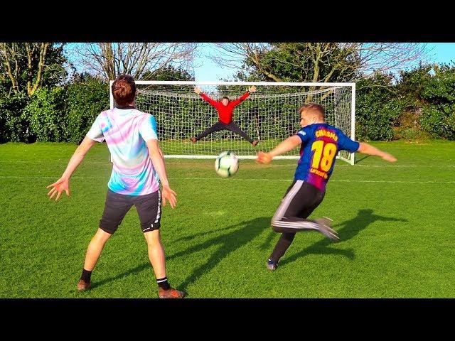 CRISTIANO RONALDO vs LIONEL MESSI FOOTBALL CHALLENGE