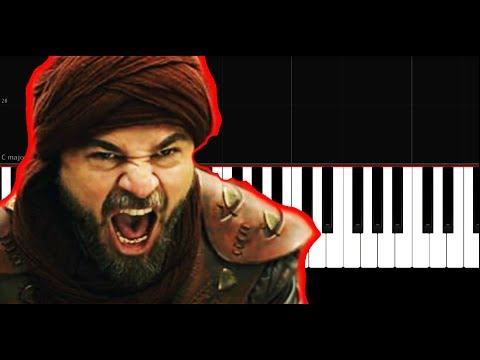Diriliş Ertuğrul Müzikleri Piano - da Nasıl Çalınır  -Tutorial  by VN