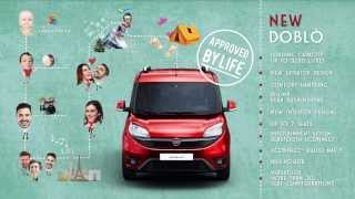 "Fiat: New Fiat Doblò: the best panel van & leisure activity vehicle ""Approved by Life"""